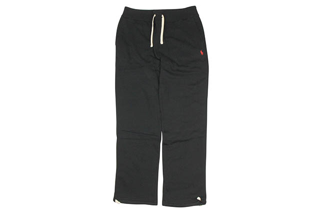 POLO RALPH LAUREN CLASSIC FLEECE PANTS (710548562002:BLACK)