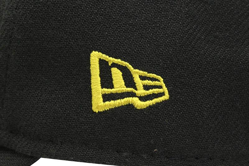 NEW ERA PITTSBURGH PIRATES TEAM CLASSIC 39THIRTY STRETCH FIT CAP (BLACK)