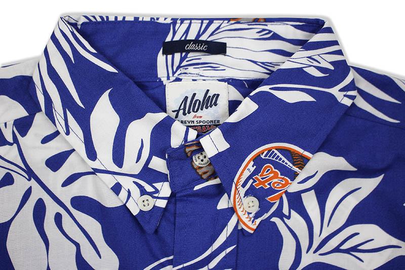 REYN SPOONER NEW YORK METS ALOHA MLB SHIRT (2837/125)
