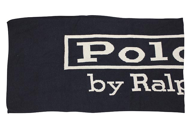 POLO RALPH LAUREN VINTAGE POLO LABEL SCARF (PC0497-433)