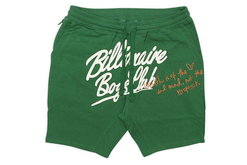 BILLIONAIRE BOYS CLUB BB CELESTIAL SHORT (811-4100:VERDANT GREEN)