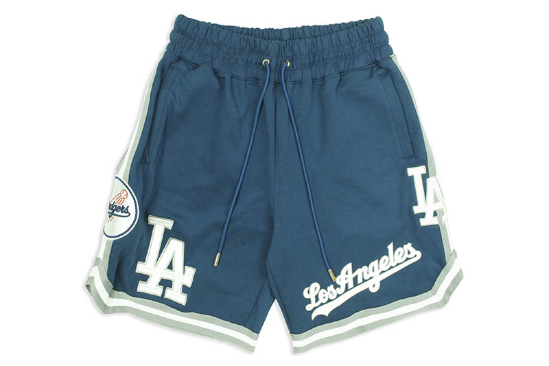 PRO STANDARD LOS ANGELES DODGERS TEAM SHORTS (LLD330913:BLUE)