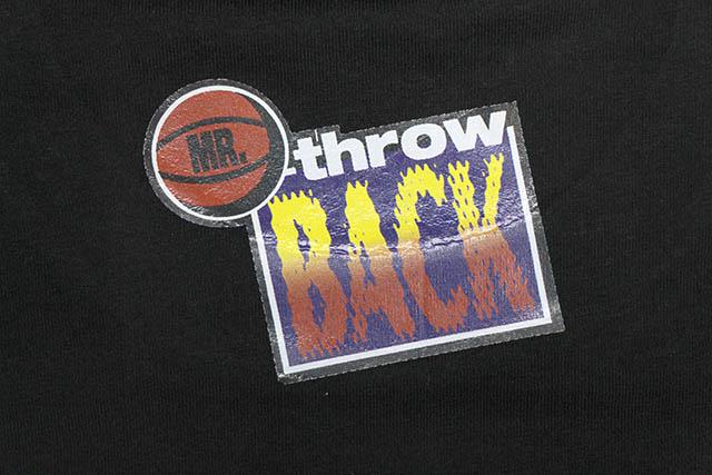 Mr. Throwback OJ T-SHIRT (BLACK)