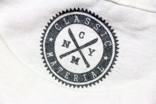 CLASSIC MATERIAL NY I RUN NY T-SHIRTS(WHITE)