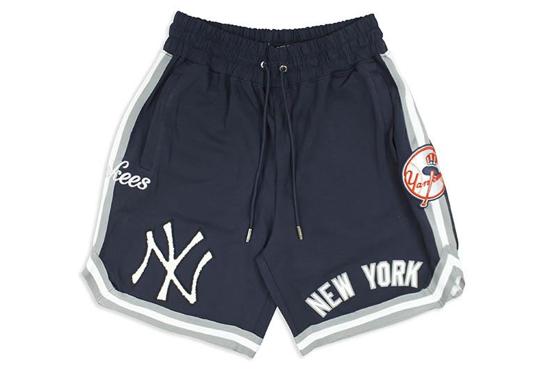 PRO STANDARD NEW YORK YANKEES TEAM SHORTS (LNY330785:MIDNIGHT NAVY)