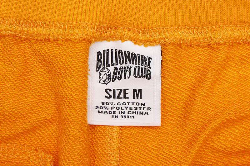 BILLIONAIRE BOYS CLUB MIND FULNESS SHORT (811-3101:FLAME ORANGE)