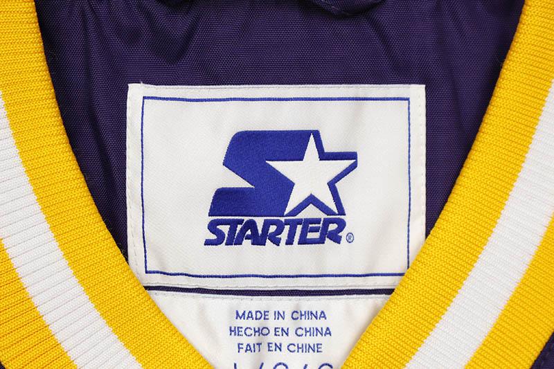 STARTER LOS ANGELES LAKERS V-NECK PULLOVER JACKET (LS030730)