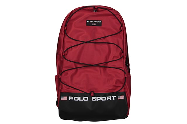 POLO SPORT NYLON BACK PACK (405749440002:RED)