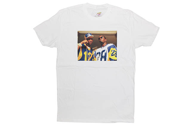 Mr. Throwback TRADE IT ALL T-SHIRT (WHITE)