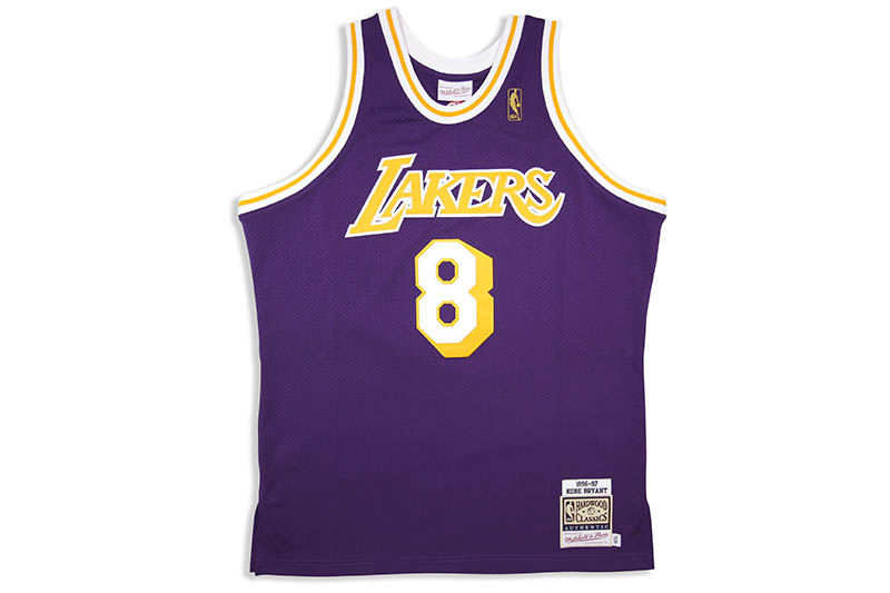 MITCHELL & NESS AUTHENTIC JERSEY (LOS ANGELES LAKERS/ROAD/1996-97/KOBE BRYANT)