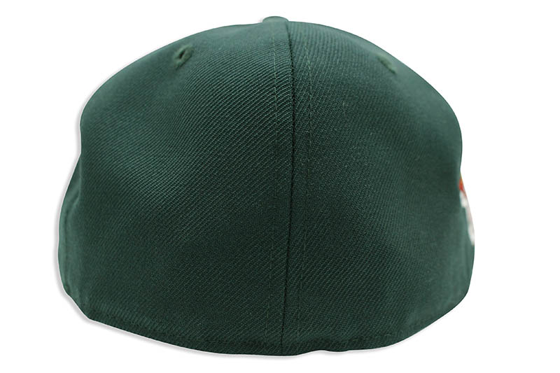 NEW ERA NEW YORK YANKEES 59FIFTY FITTED CAP (1999 WORLD SERIES SIDE PATCH/PINK UNDER VISOR/DARK GREEN)