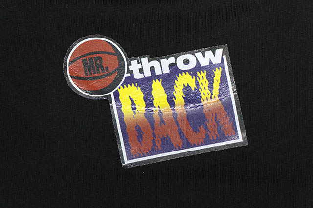 Mr. Throwback TRADE IT ALL T-SHIRT (BLACK)