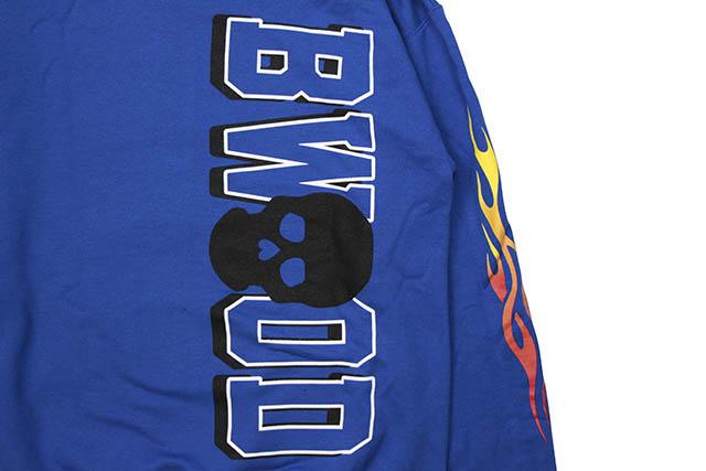 B WOOD SATAN STEVE HOODY (BLUE)
