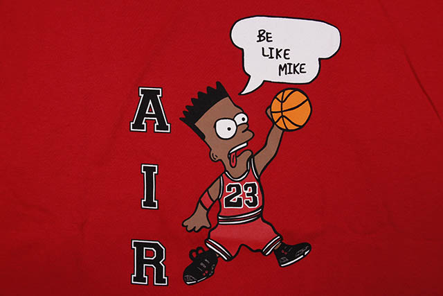 COMMUNITY 54 BE LIKE MIKE S/S T-SHIRT (RED)
