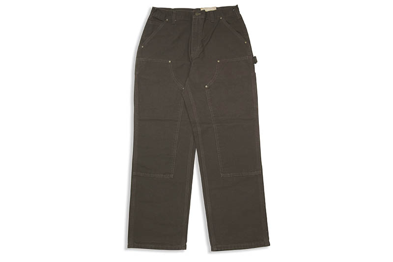 Carhartt WASHED-DUCK DOUBLE-FRONT WORK DUNGAREE (B136/DKB:DARK BROWN)
