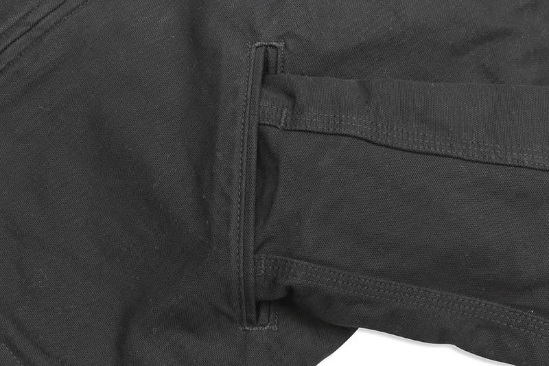 Carhartt WASHED DUCK SHERPA LINED JACKET (104392-BLK/BLACK)