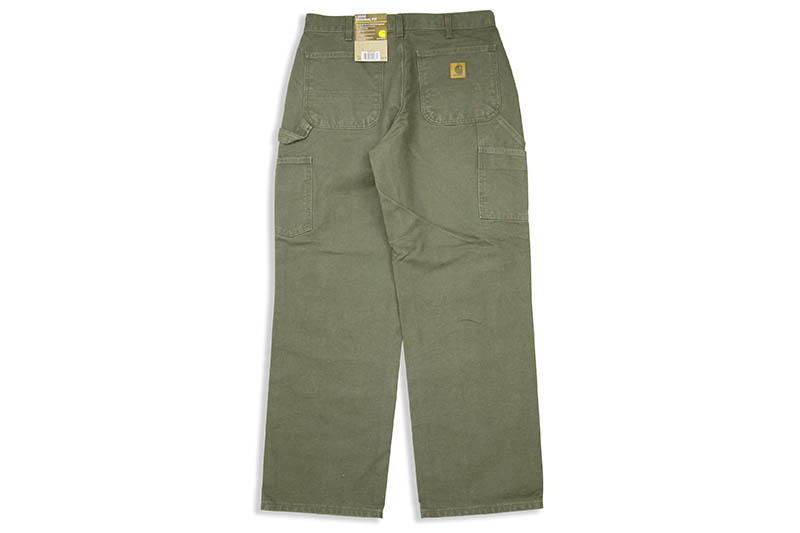 Carhartt WASHED DUCK WORK PANT (B11/MOS:MOSS)