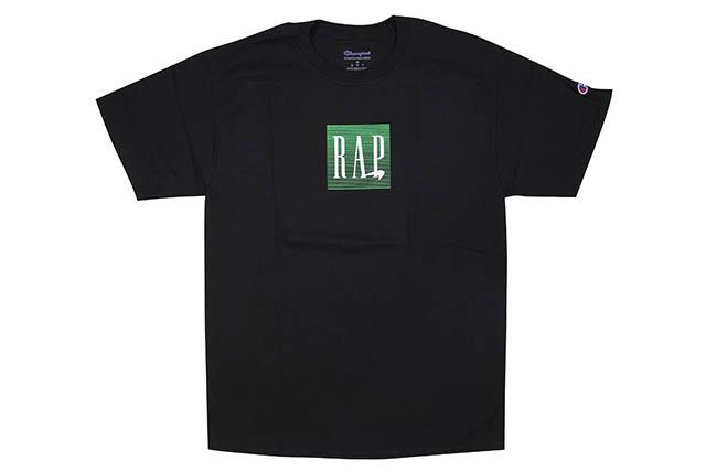 COMMUNITY 54 MENTHOL RAP S/S T-SHIRT (BLACK)