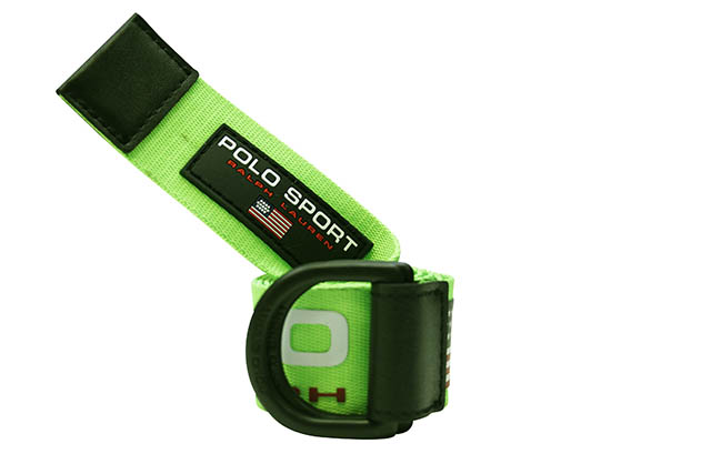 POLO SPORT D-RING BELT (405793767002:NEON LIME)