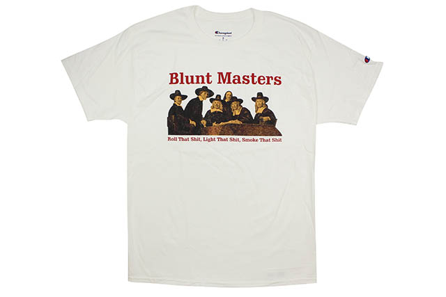 COMMUNITY 54 BLUNT MASTERS S/S T-SHIRT (WHITE)