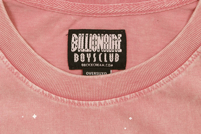 BILLIONAIRE BOYS CLUB BB S.T.F SS KNIT (811-4300:WILD ROSE)