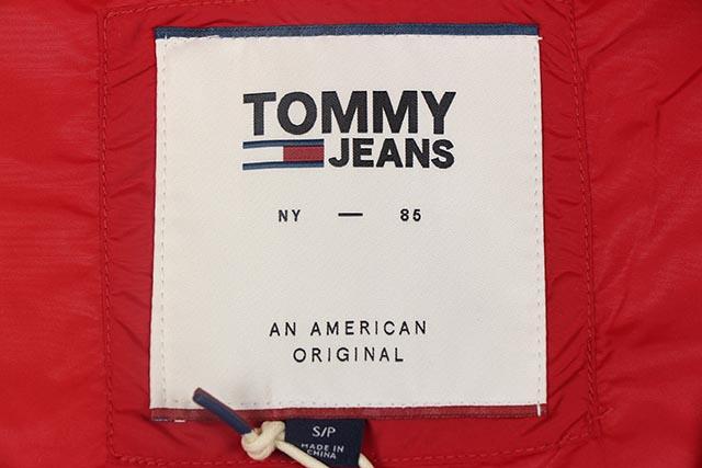 TOMMY JEANS NYLON JACKET(DM04554-602)(RED×WHITE×NAVY)