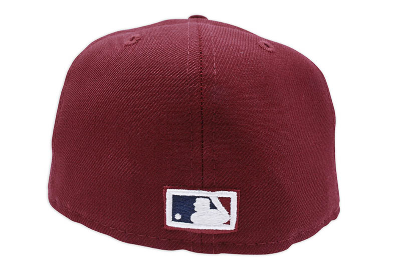 NEW ERA NEW YORK YANKEES 59FIFTY FITTED CAP (1999 WORLD SERIES SIDE PATCH/GREY UNDER VISOR/BURGUNDY)
