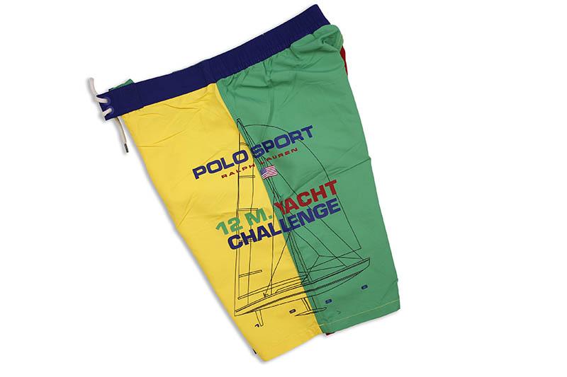 POLO RALPH LAUREN 8 1/2-INCH KAILUA SWIM TRUNK (710787139001:OCEANS COLORBLOCK)