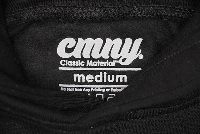 CLASSIC MATERIAL NY WHO'S THE BEST MC KID'S HOODY (BLACK)