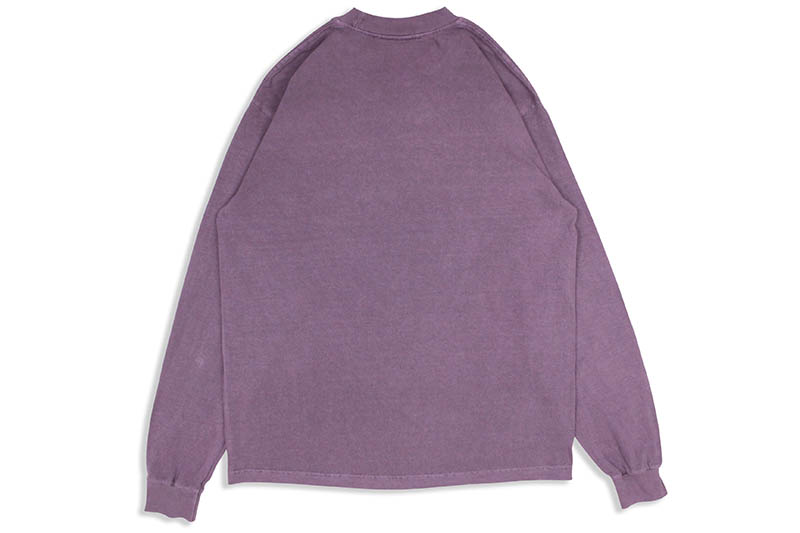 ONLY NY COMMUNITY GARDENS L/S T-SHIRT (PLUM)