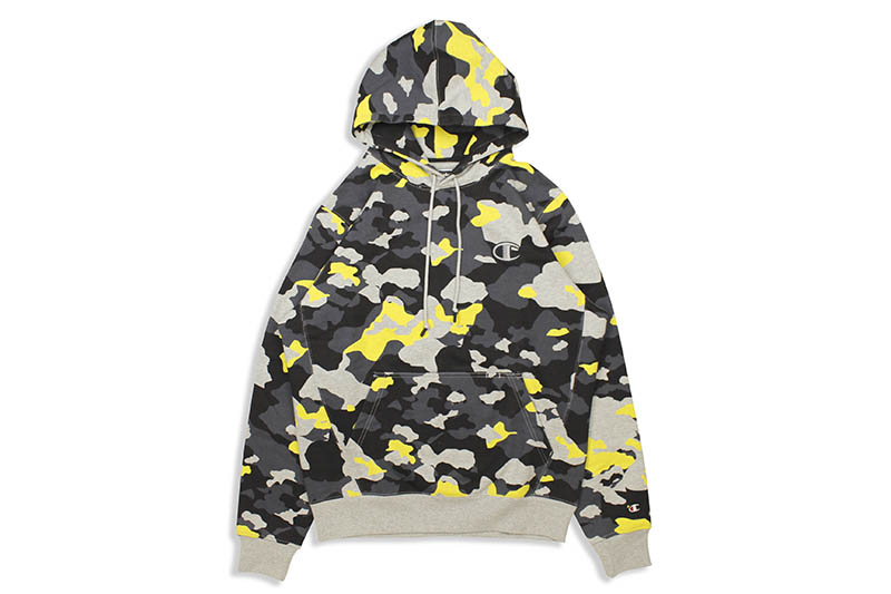 CHAMPION LIFE SUPER FLEECE 2.0 HOODIE (YELLOW CAMO)