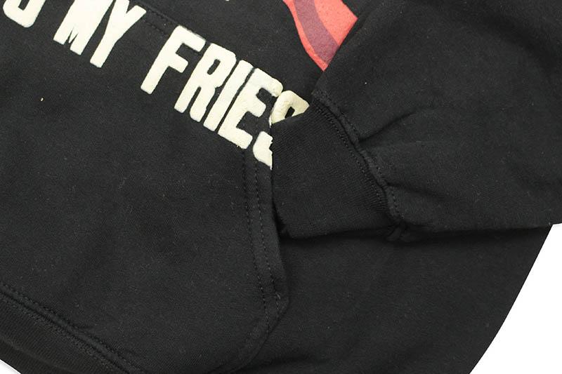 Travis Scott x McDonald's CPFM 4 CJ SCRIPT HOODIE (BLACK)