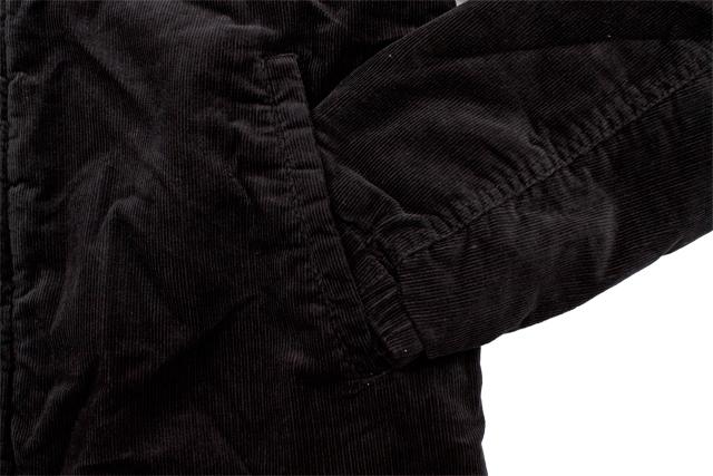 LEVI'S CORDUROY SHERPA LINED TRUCKER JACKET (LM8RC530:BLACK)