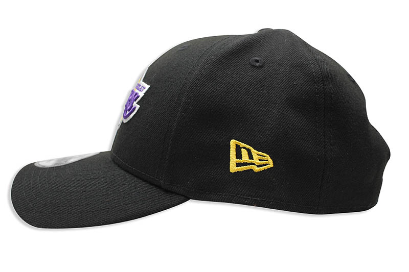 NEW ERA LOS ANGELES LAKERS THE LEAGUE 9FORTY ADJUSTABLE CAP (BLACK)