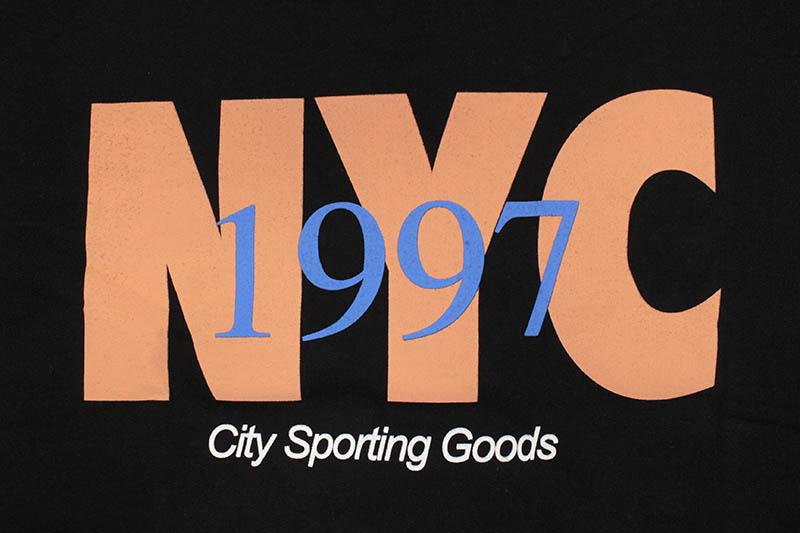 ONLY NY NYC TRACK CREWNECK (BLACK)