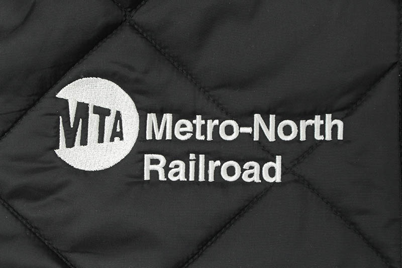 MTA DIAMOND QUILTED NYLON JACKET (BLACK)