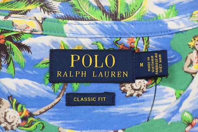 POLO RALPH LAUREN CLASSIC FIT GRAPHIC TEE (710746840004:MINI ISLAND MULTI)