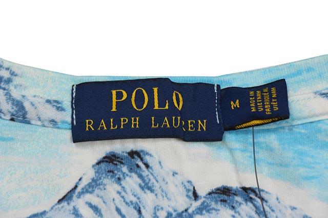 POLO RALPH LAUREN CLASSIC FIT GRAPHIC TEE (710750621001:ORIENTAL ISLAND)