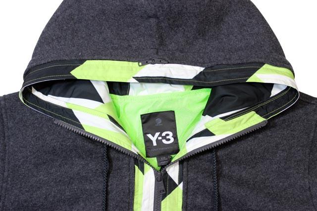 Y-3 FELT JERSY 2IN1(F47209:CHAMEL)