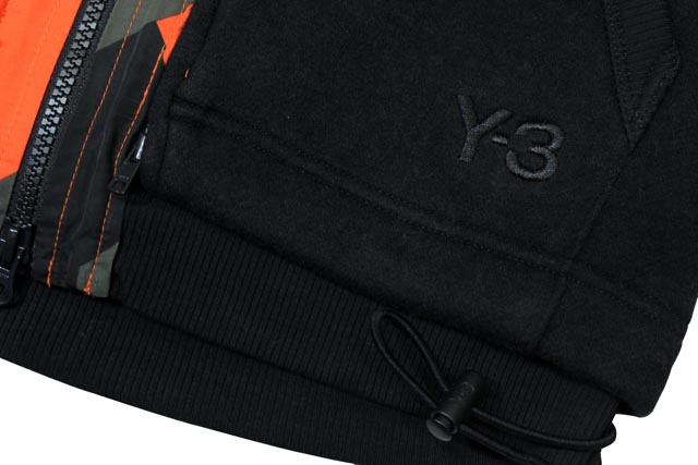 Y-3 FELT JERSY 2IN1(F47208:BLACK)