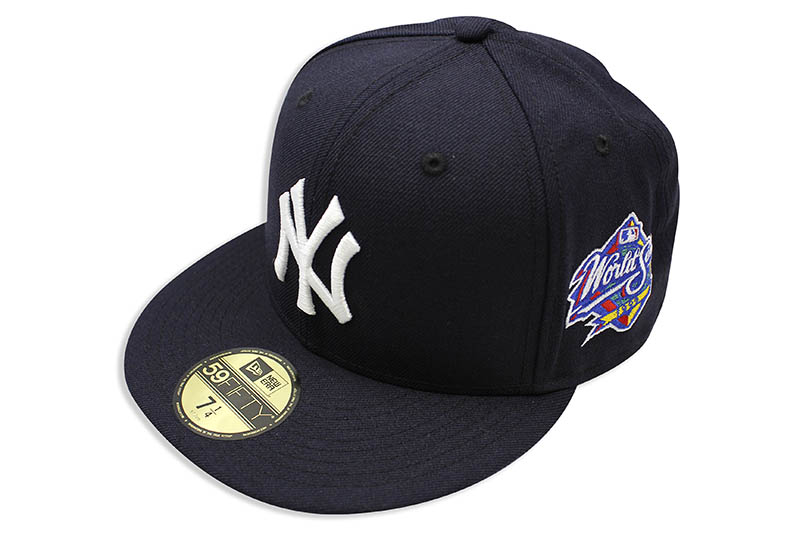 NEW ERA NEW YORK YANKEES 59FIFTY FITTED CAP (1999 WORLD SERIES SIDE PATCH/NAVY)