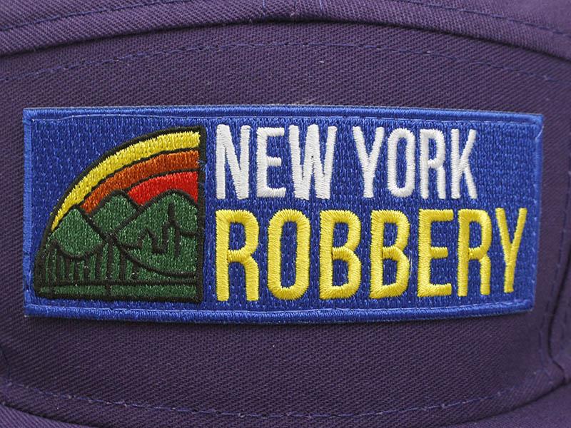 NEW YORK ROBBERY CAMPER HAT (PURPLE)