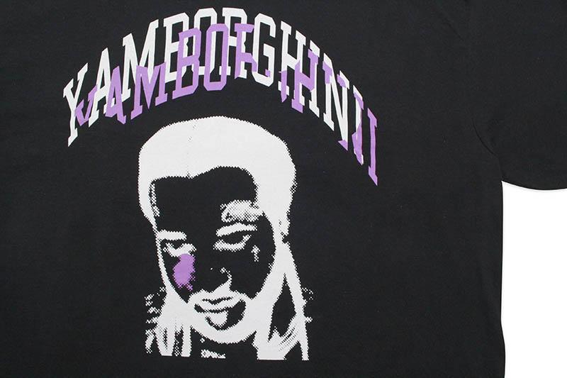 YAMBORGHINI FACE T-SHIRT (BLACK)