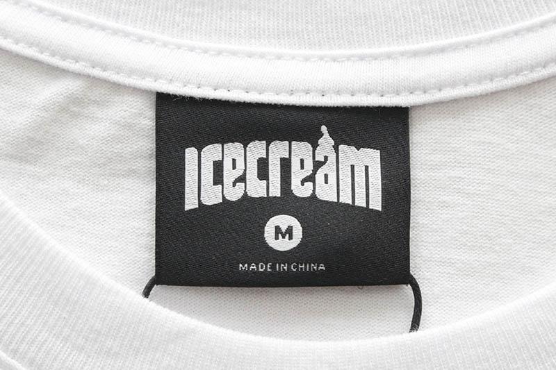 ICECREAM SAD CONE SS TEE (411-3201:WHITE)