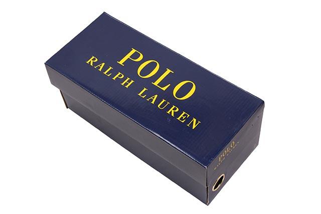POLO RALPH LAUREN CAYSON SLIDE SANDAL(816699473001:BLACK MU SMTH SYNTHETIC)
