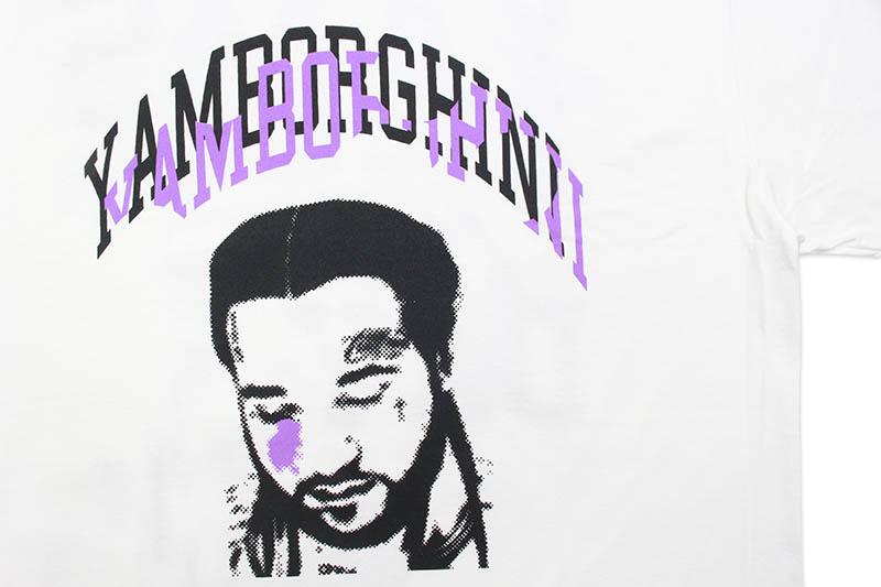 YAMBORGHINI FACE T-SHIRT (WHITE)