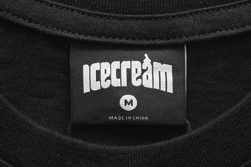 ICECREAM NEOPOLITAN SS TEE (411-4207:BLACK)