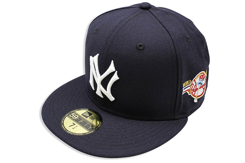 NEW ERA NEW YORK YANKEES 59FIFTY FITTED CAP (1947 WORLD SERIES SIDE PATCH/NAVY)