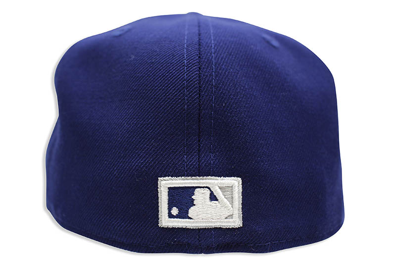 NEW ERA LOS ANGELES DODGERS 1958 COOPERSTOWN WOOL 59FIFTY FITTED CAP (BLUE)