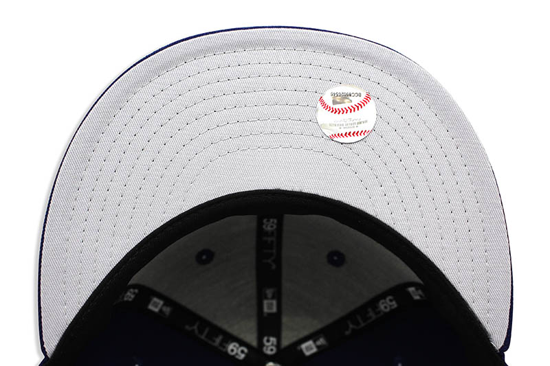 Los Angeles Dodgers 1958 Cooperstown laine 59 Fifty Fitted